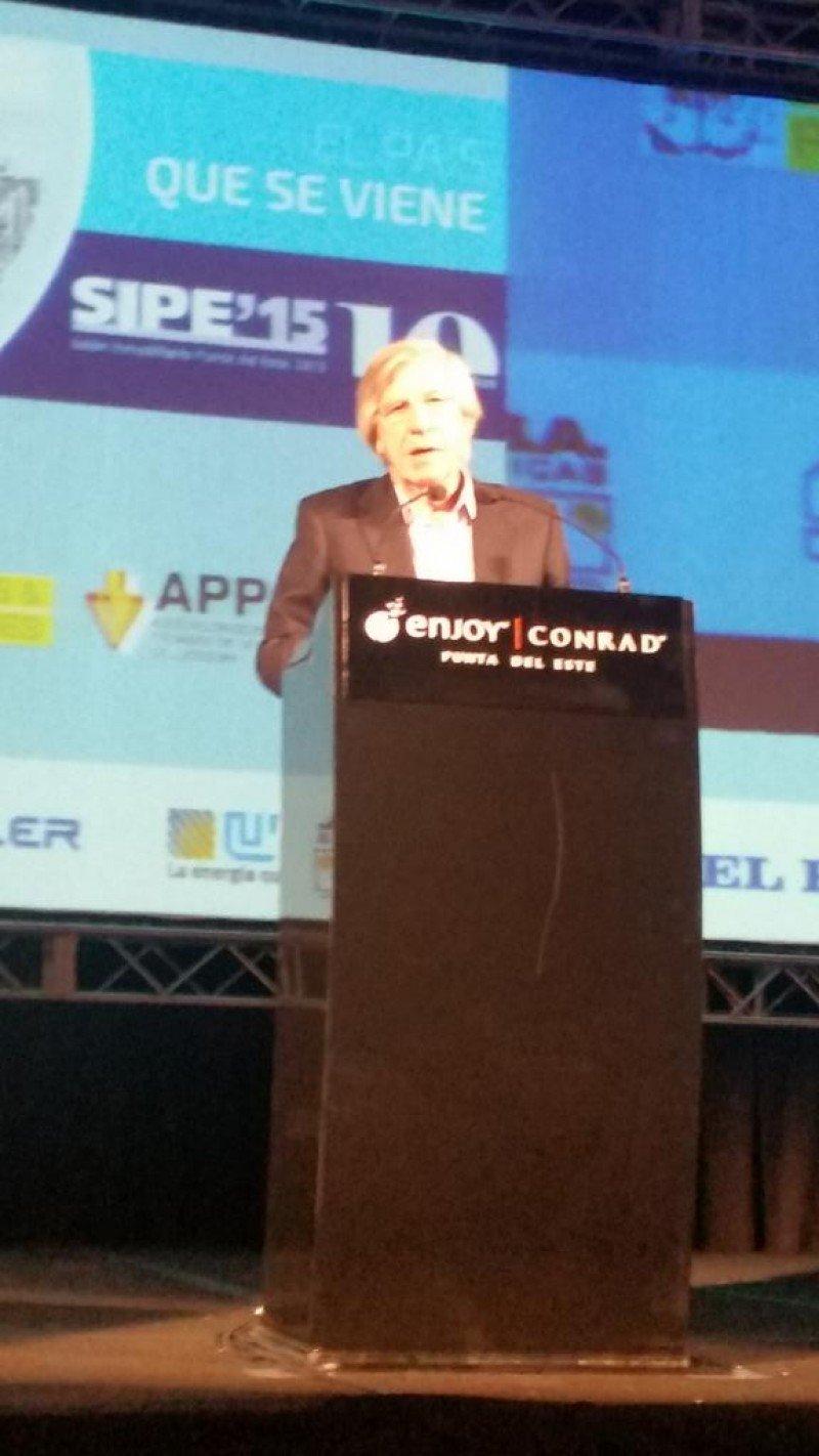 Vicepresidente Danilo Astori, futuro ministro de Economía de Uruguay.