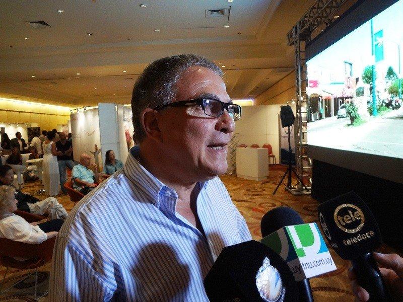 Luis Borsari, presidente de la Cámara Uruguaya de Turismo.