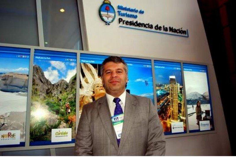 Oscar Suárez, Director Nacional de Promoción Turística.