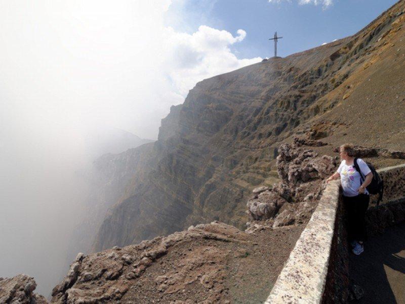 La ruta de los volcanes es uno de los principales atractivos del país. #shu#