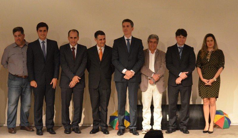 La presentación del vuelo se realizó en la Embajada de Brasil en Buenos Aires.