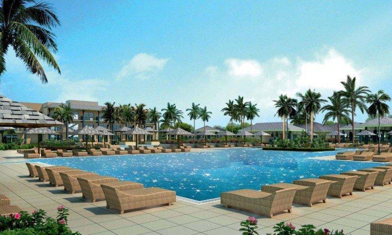 Hotel Meliá en Jardines del Rey, Cayo Coco, el mayor de sus establecimientos en todo el mundo.