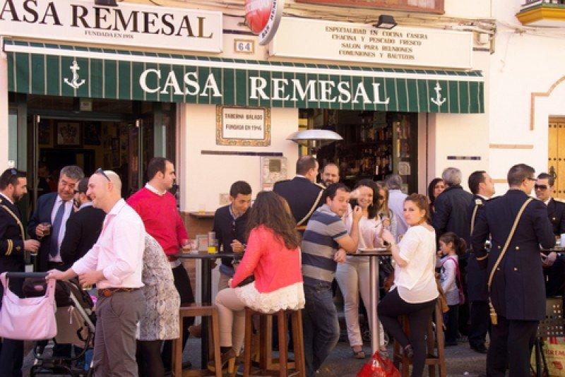 Un restaurante en Sevilla. #shu#