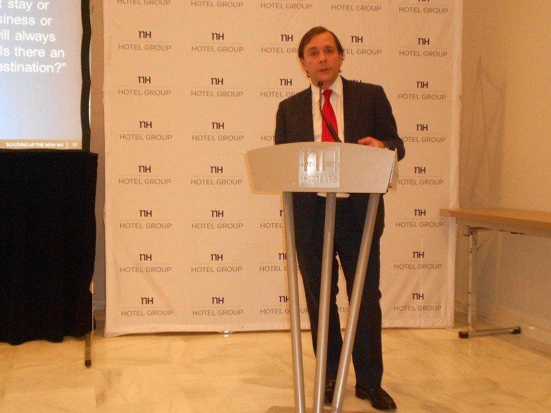 Federico González Tejera ha afirmado que España tiene un papel clarísimo en el crecimiento de NH en los próximos años.