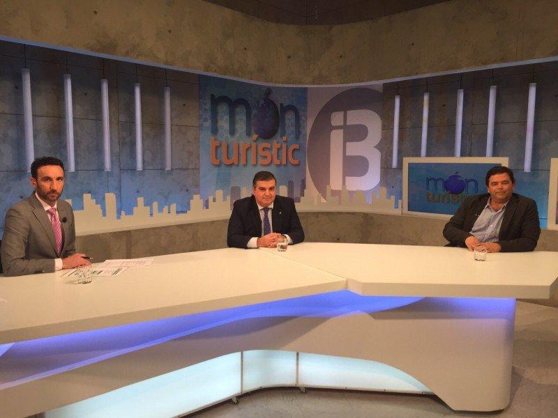 Ovidio Andrés y Xisco Martínez, invitados a Món Turístic para hablar de Fitur 2015.
