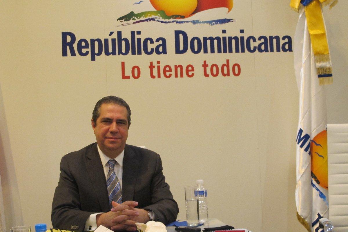 Francisco Javier García, ministro de Turismo de República Dominicana.