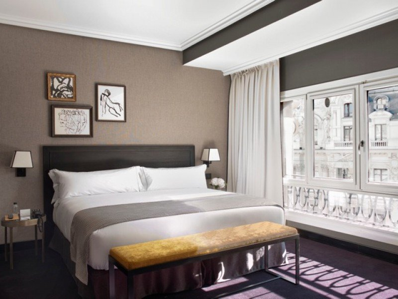 The Principal Madrid Hotel cuenta con 76 habitaciones y suites de seis categorías.