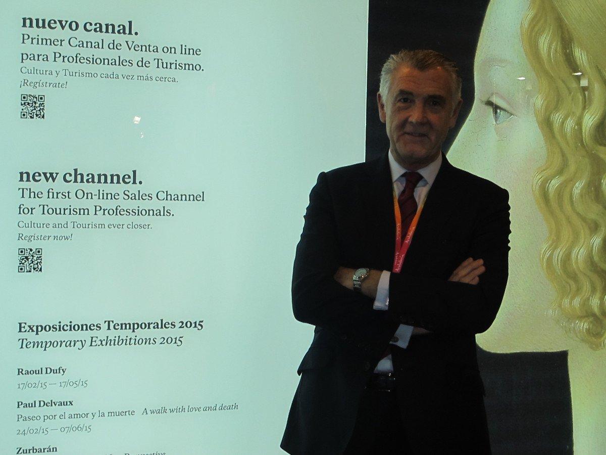 Evelio Acevedo, director de la Fundación Museo Thyssen-Bornemisza.