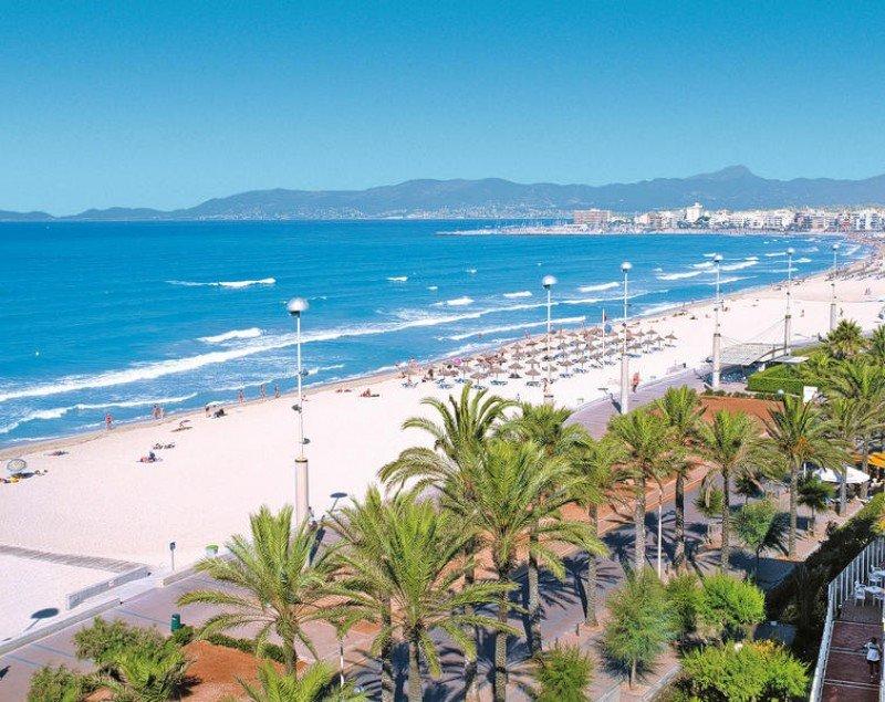Autorizan un nuevo hotel de 5 estrellas en Playa de Palma