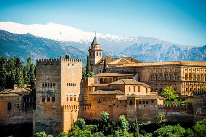 Vista general de la Alhambra de Granada. #shu#