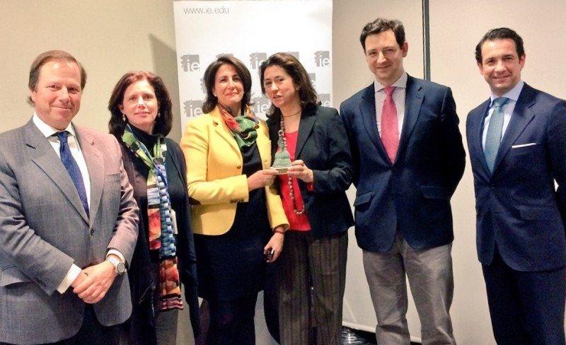 De izq. a dcha, Ramón Estalella, Carola Arbolí, Isabel Borrego, Ángeles Alarcó, Toni Perpiñá y Antonio López de Ávila.