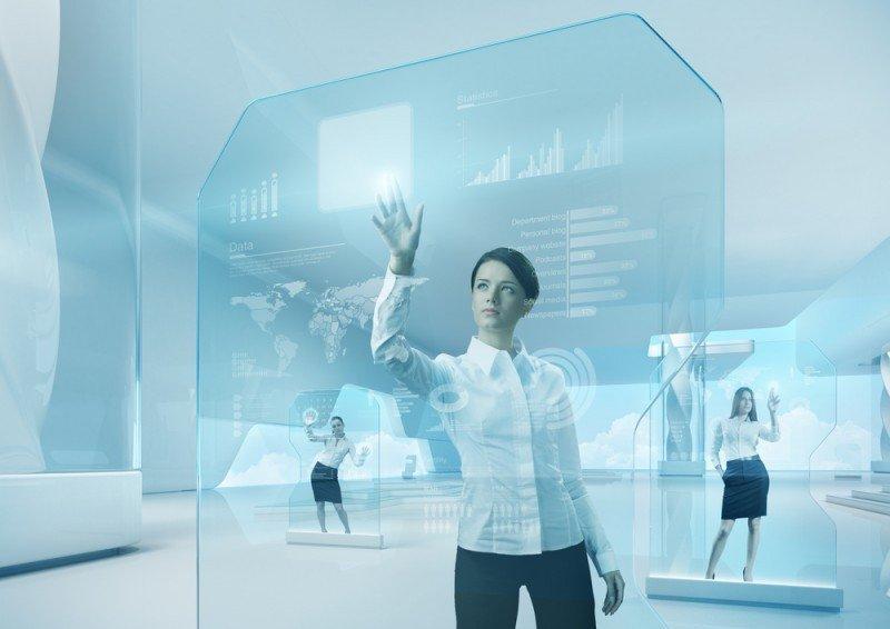 El llamado entorno extremo convierte cada superficie plana en una pantalla. #shu#