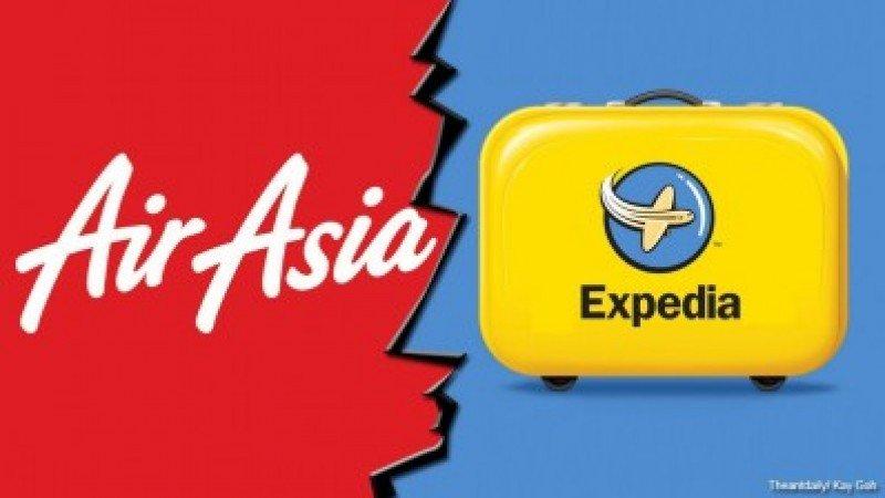 Expedia aumenta un 25% la participación en su OTA con AirAsia