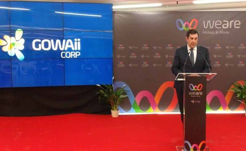 Javier Díaz, CEO del grupo Gowaii.