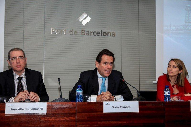 Barcelona recibe un 9% menos de cruceristas en 2014
