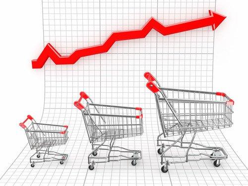La confianza de los consumidores pasó de -8,5 a - 6,7. #shu#