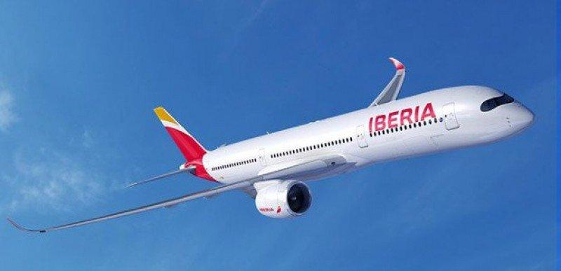 Así será el A350 -900 de Iberia.