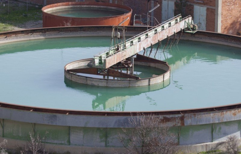 Planta depuradora de aguas. #shu#