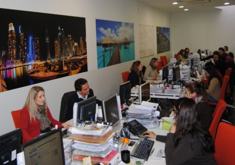 Oficinas de CN Travel.