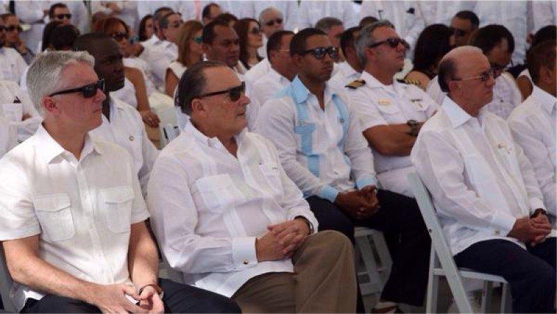 Frank Rainieri participó como invitado en la presentación del nuevo hotel.