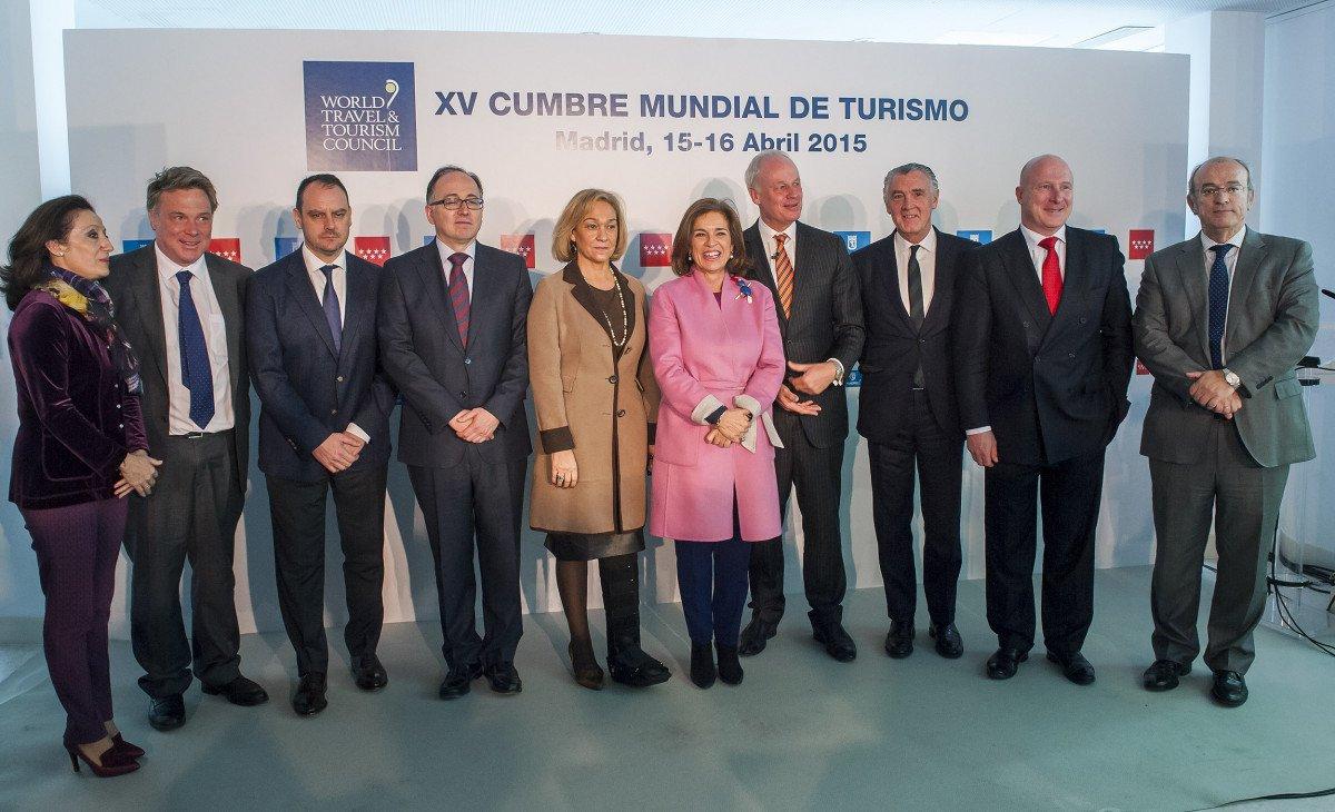 Presentación de la Cumbre Mundial del Turismo, en el Museo Thyssen-Borsemisza.