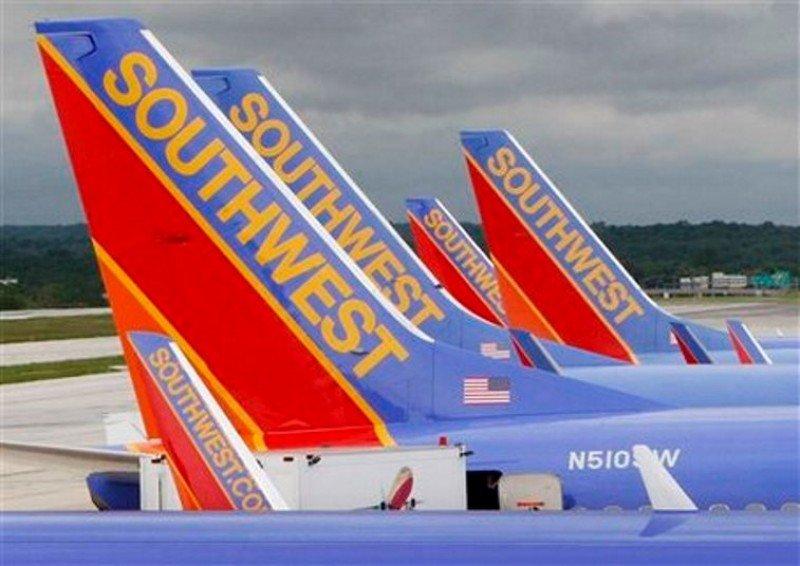 Southwest Airlines suspende la operación de la quinta parte de su flota