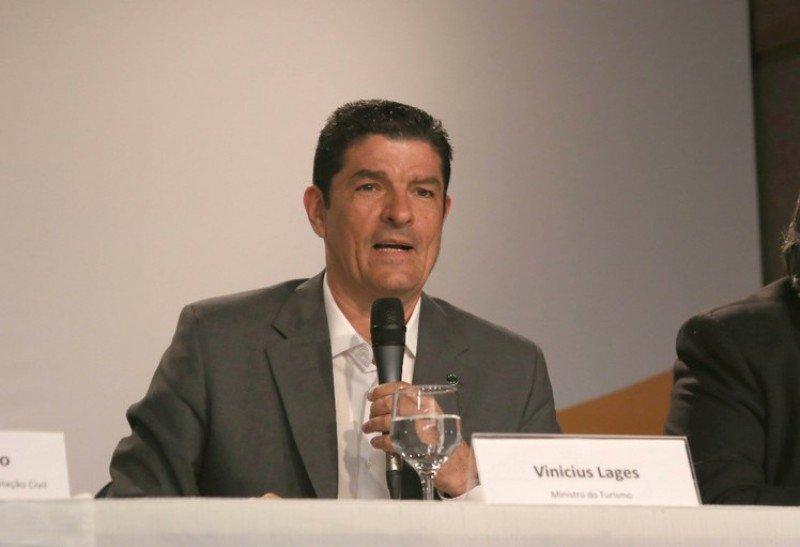 Vinicius Lages, ministro de Turismo de Brasil.
