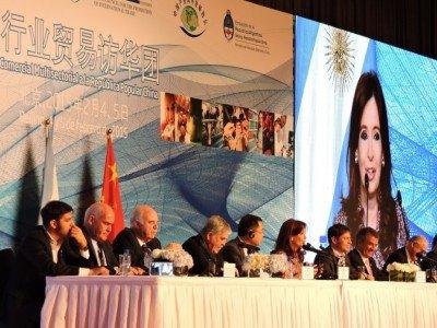 El ministro de Turismo, Enrique Meyer, formó parte de la comitiva argentina que viajó a China.