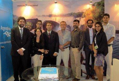 Argentina mostró su oferta en India y capacitó a operadores turísticos.