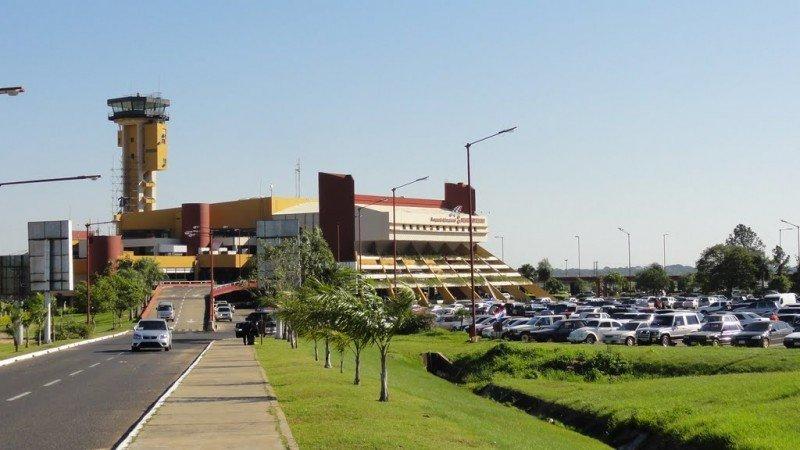 Aeropuerto Silvio Pettirossi de Asunción del Paraguay.