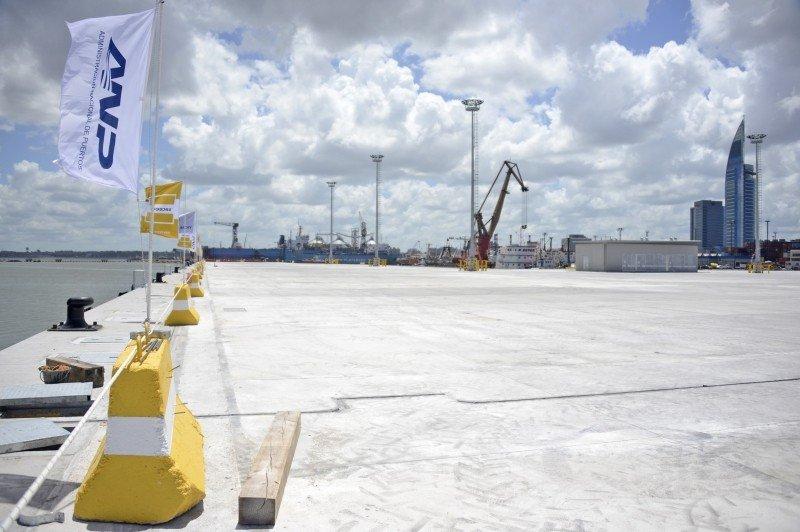 Nuevo Muelle C del Puerto de Montevideo permitirá atraque de hasta tres cruceros.