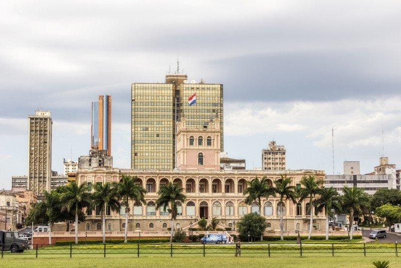 Palacio Presidencial, Asunción. #shu#