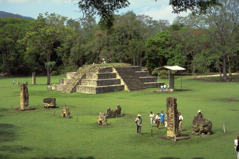 Parque Arqueológico de Copán. (Foto: Juan Bendeck)