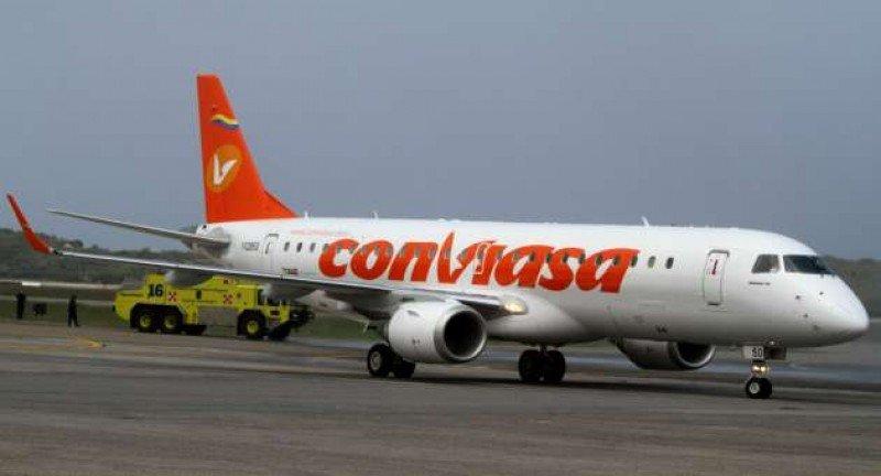Conviasa amplía su capacidad en vuelos a Buenos Aires