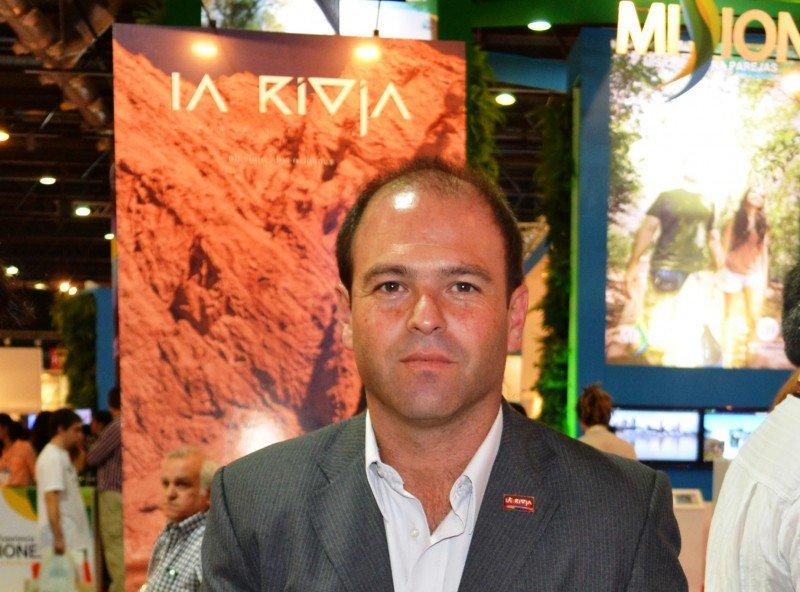 Álvaro del Pino, secretario de turismo de La Rioja.