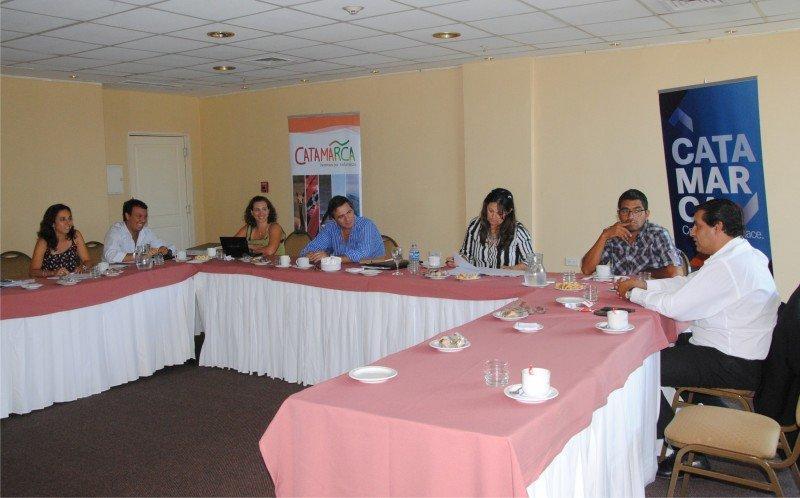 Representantes del Ente Norte se reunieron en Catamarca.