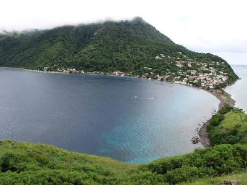 Parque Nacional de Cabrits en Dominica.