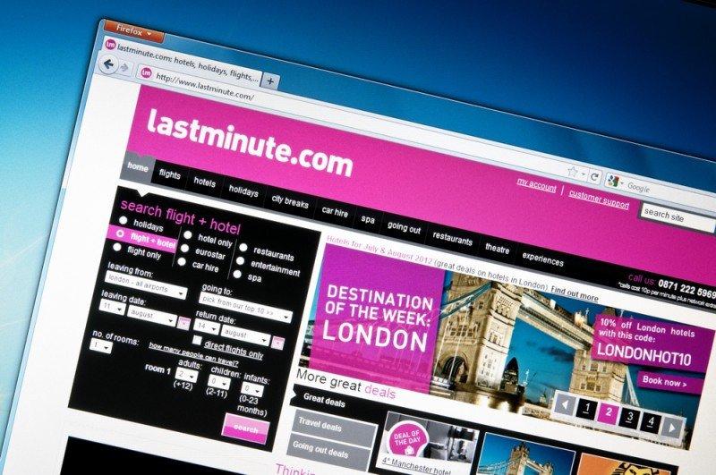 Sabre puso en venta Lastminute en agosto. #shu#.
