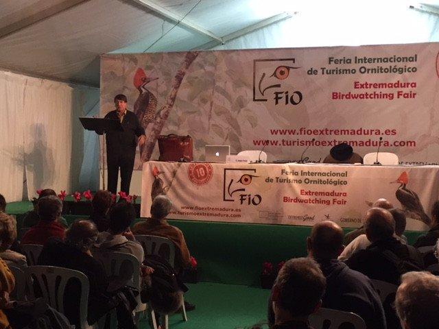 La feria ha acogido diversos talleres y conferencias. Foto: Turismo de Extremadura