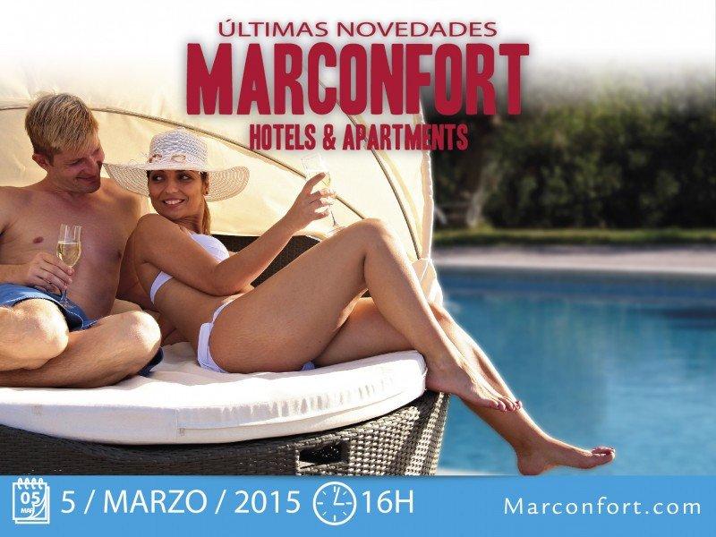 Webinar: Últimas novedades de Marconfort Hoteles