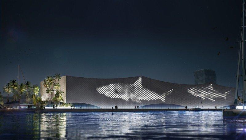 Imagen virtual de cómo será el nuevo acuario.