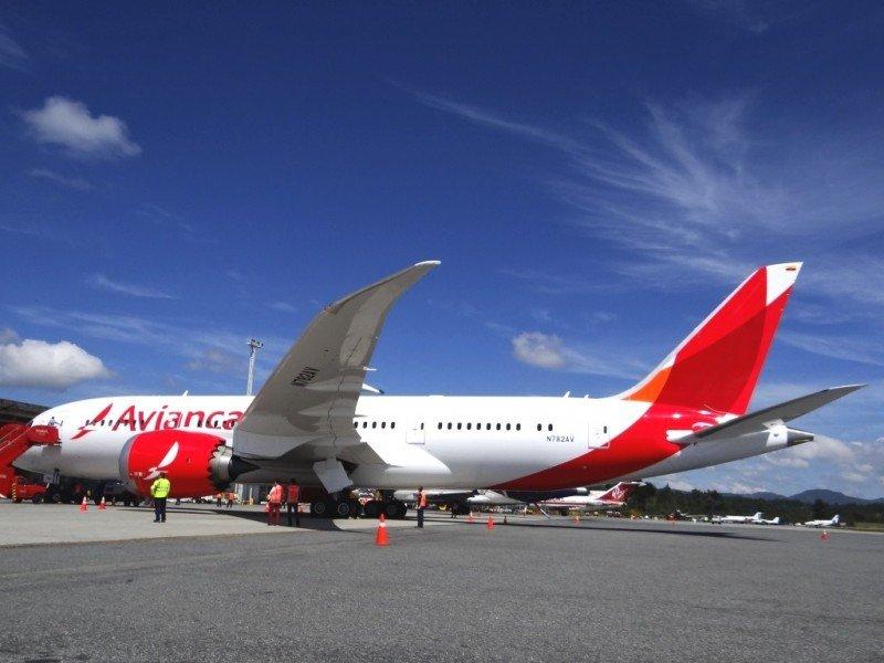 Avianca incorporó a su flota durante el año cuatro nuevos oeing 787 Dreamliners.