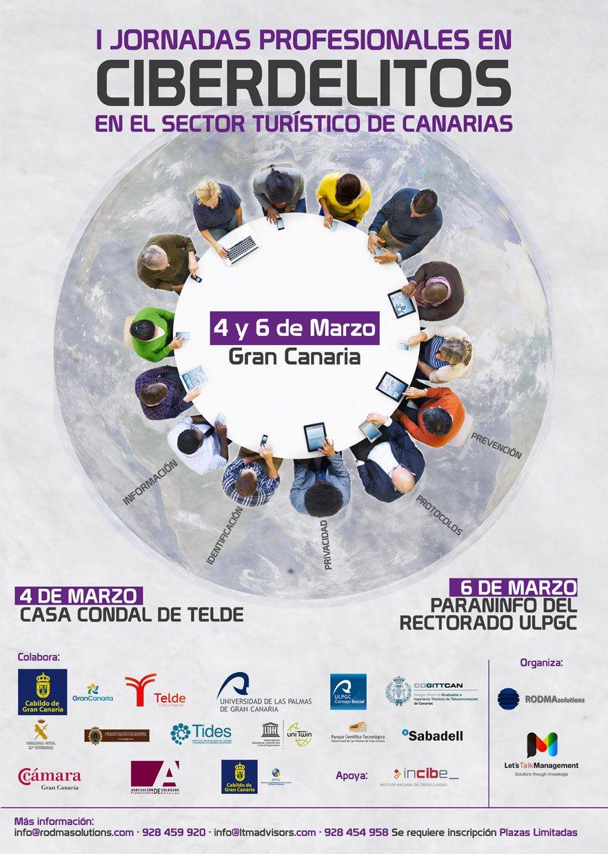 Jornadas sobre ciberdelitos en turismo en Canarias