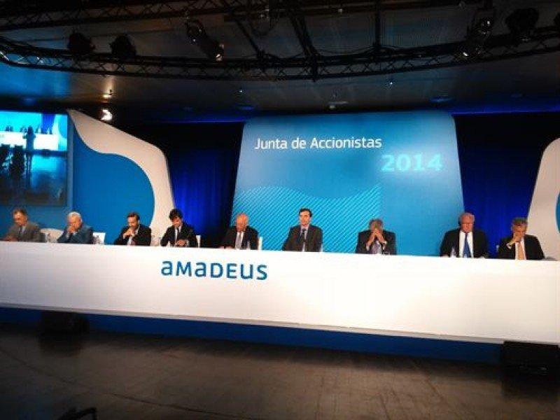Amadeus recompra 359.230 acciones propias por valor de 13,3 M €