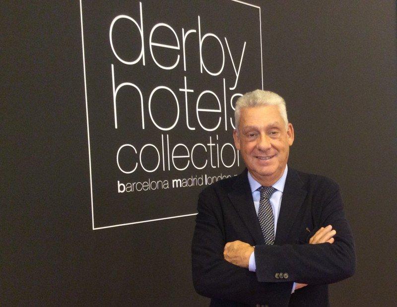 Jordi Clos, presidente del Gremi d'Hotels de Barcelona y de Derby Hotels.