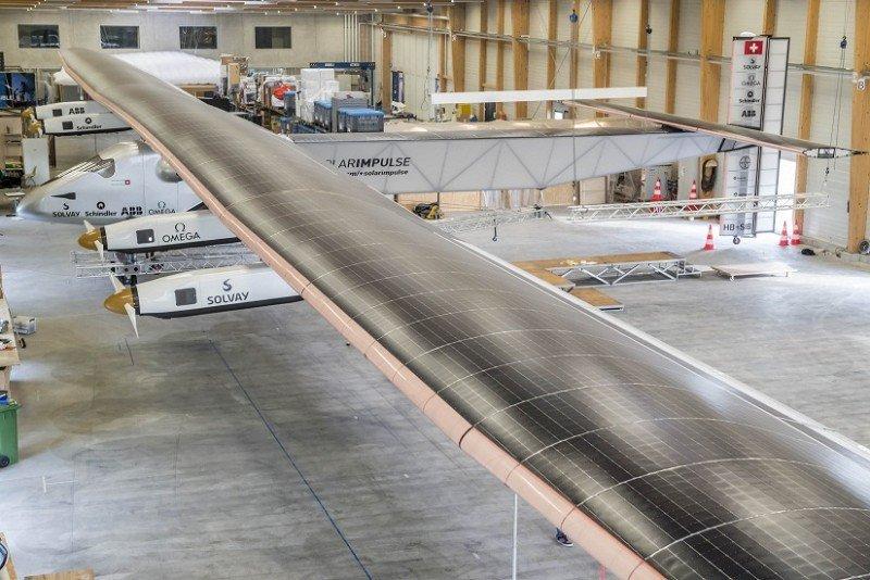 El Solar Impulse 2 arranca su segunda vuelta al mundo con una posible escala en España