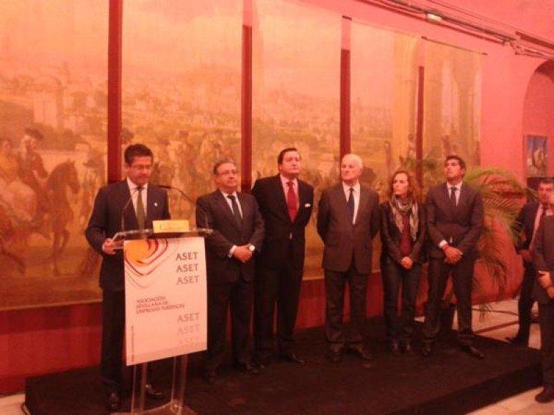 Las empresas turísticas de Sevilla premian a Airbus Defence and Space