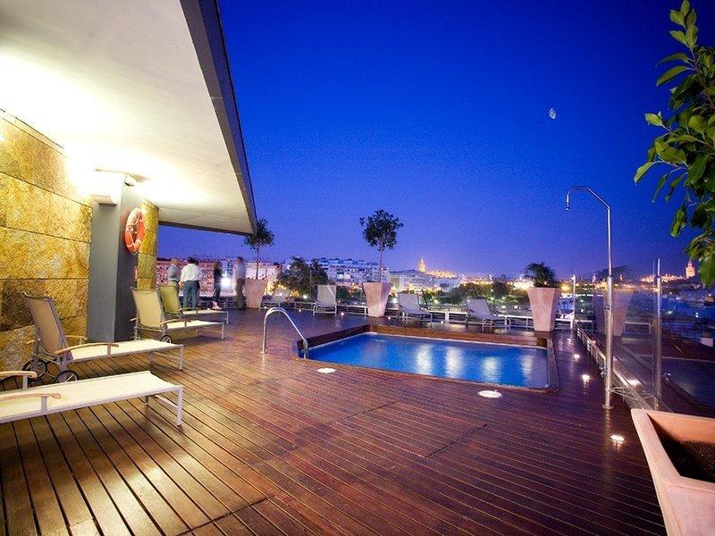 Los hoteles españoles siguen aumentando rentabilidad. Foto Sercotel Ribera de Triana.