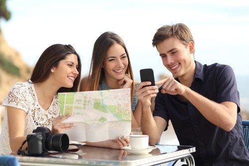 Las apps turísticas son una de las claves de los destinos turísticos inteligentes. #shu#