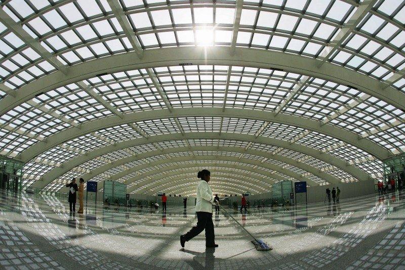 Aeropuerto Internacional de Beijing.